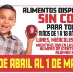 El Distrito Escolar de Santa Ana Actualiza su Horario de Distribución de Comidas