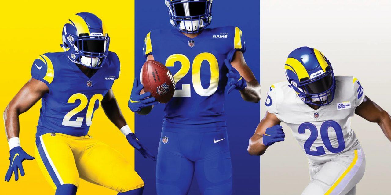 Presentan los Rams sus nuevos uniformes