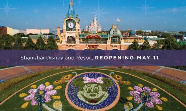 Shanghai Disneyland reabre con capacidad controlada el 11 de mayo