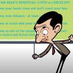 Apoya Mr. Bean en campaña de la OMS por Covid-19