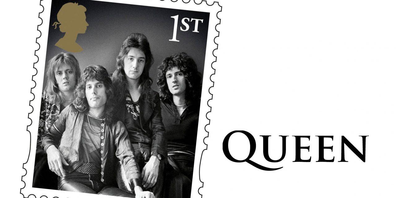 Honrarán a Queen con su propia serie de estampillas