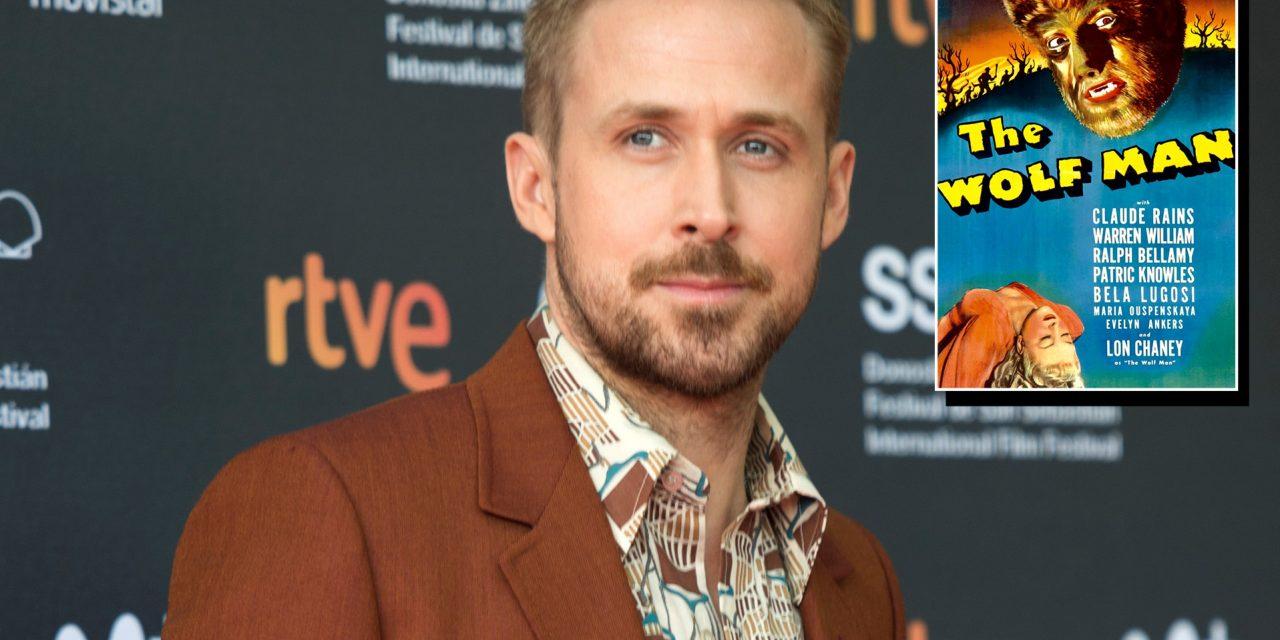Ryan Gosling protagonizará 'Wolfman'
