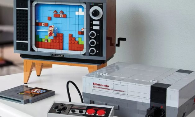 Lego presenta set de Nintendo