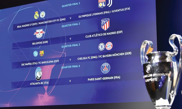 Así se jugarían los cuartos de final y las 'semis' de la Champions League