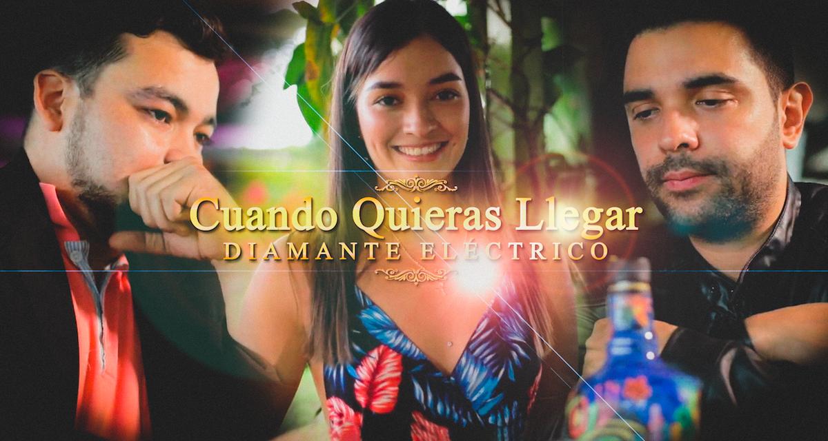 Diamante Eléctrico presenta su nuevo sencillo «Cuando Quieras Llegar»