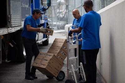 Goya dona 200,000 libras de comida a México