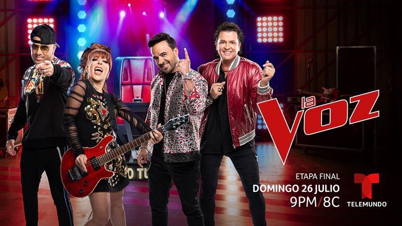 'La Voz' regresa a Telemundo el domingo, 26 de julio a las 9pm/8c con más electrificantes presentaciones musicales que nunca