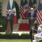 AMLO y Donald Trump se reúnen en la Casa Blanca