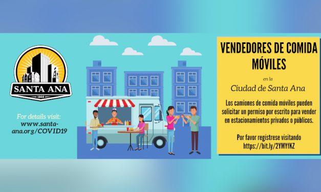 Vendedores de Comida Móviles Tienen Permiso Temporalmente Para Operar en Estacionamientos; Es Necesario Registrarse por Adelantado