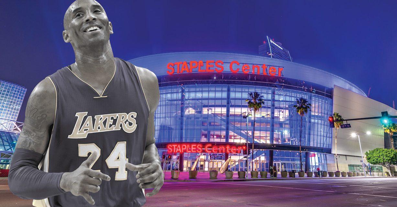 Kobe Bryant tendrá calle en Staples Center