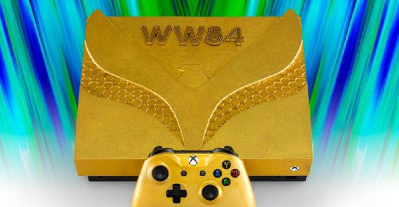 Wonder Woman 1984 y Xbox lanzaron una consola de oro para ayudar en la lucha contra el coronavirus