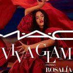 Lanza Rosalía con MAC su propio labial con fines benéficos