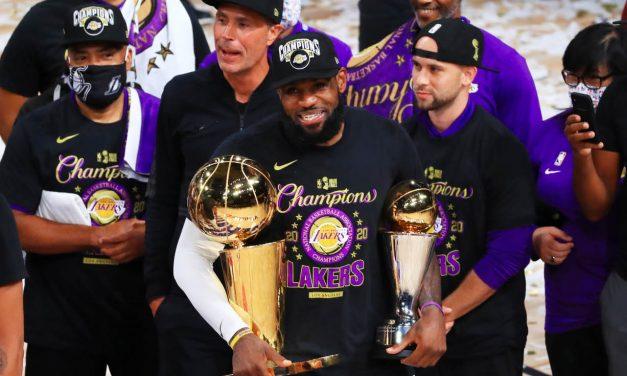 Lakers consiguen su decimoséptimo título de la NBA