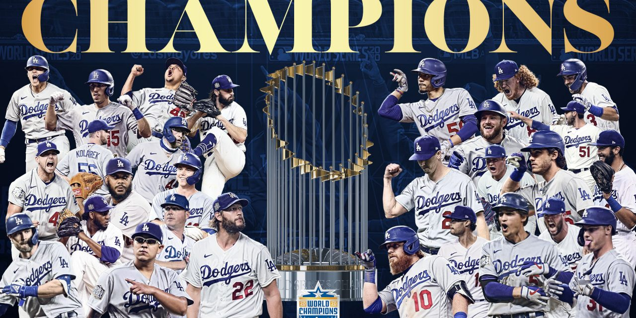 Dodgers gana la Serie Mundial; vence 3-1 a Rays