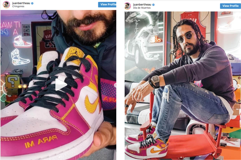 Nike lanza sorprendente colección de tennis inspirada en Día de Muertos