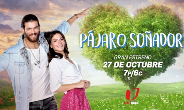 """""""Pájaro Soñador"""" (Daydreamer), la primera comedia romántica turca que llega a Estados Unidos, se estrena el 27 de octubre en UniMás"""