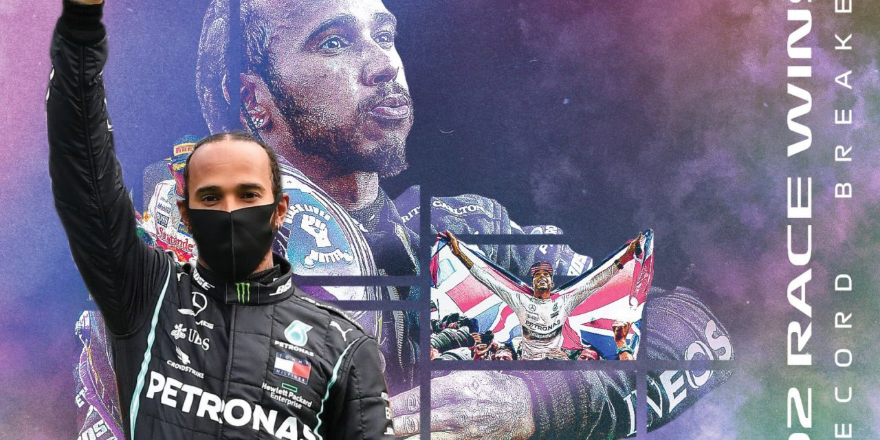 Hamilton gana en Portugal y supera a Schumacher