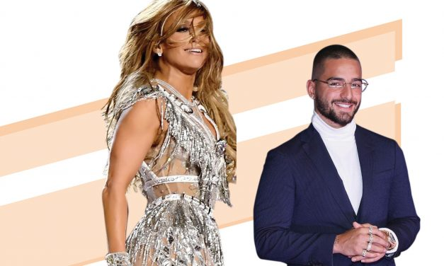 ¡Latinos a la carga! Jennifer Lopez y Maluma en 'Marry me'