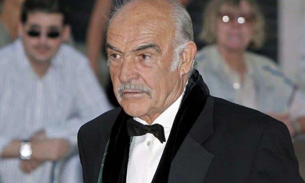 Adiós Sean Connery
