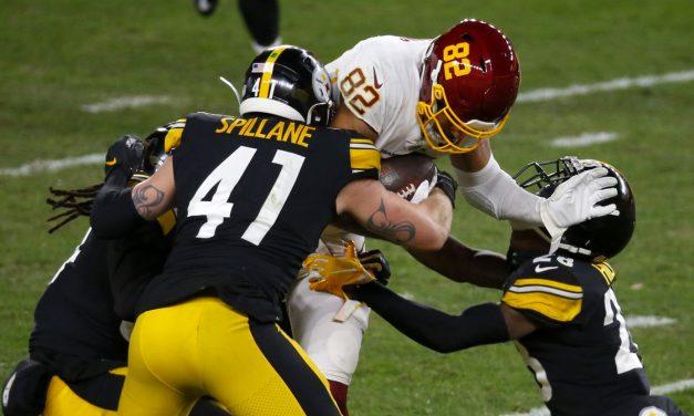 Steelers pierden el invicto ante Washington