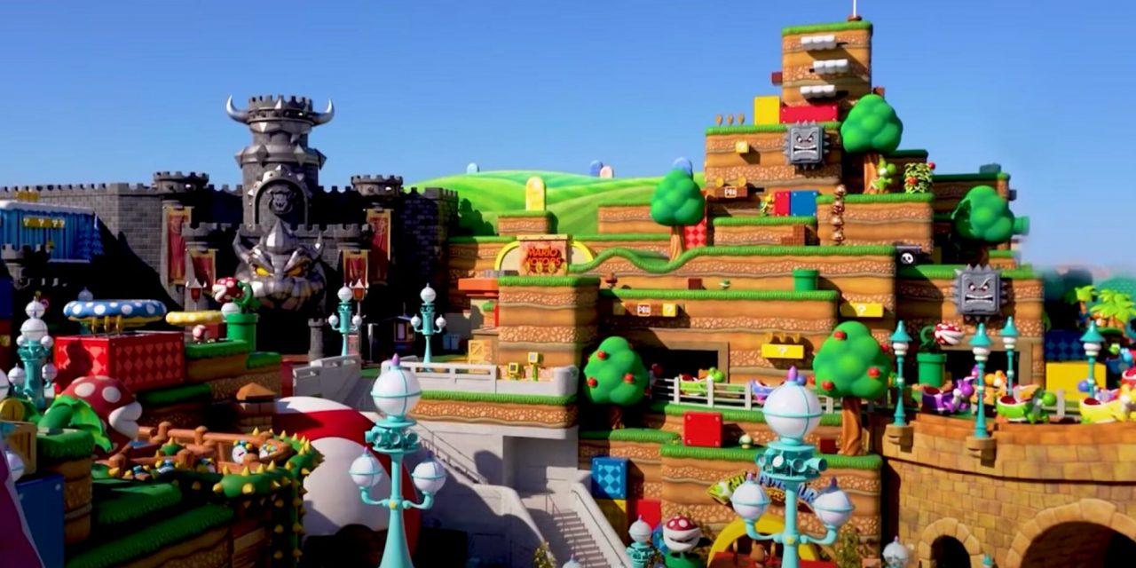 Super Nintendo World abrirá en febrero de 2021