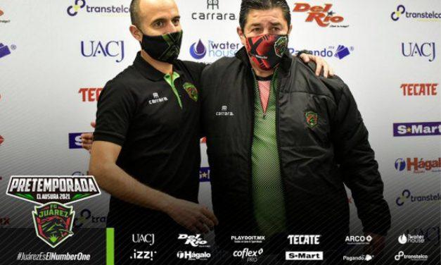 FC Juárez presenta a Fernando Tena como su nuevo DT