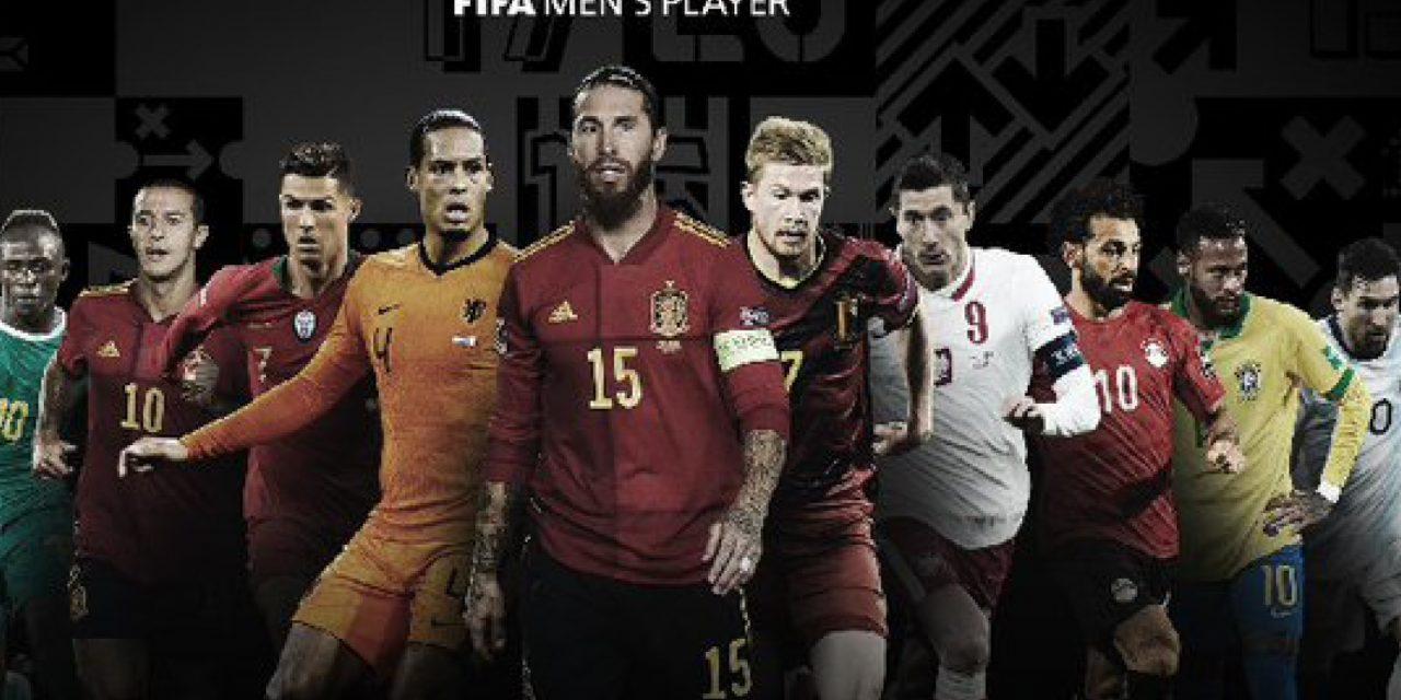 Cristiano, Messi y Lewandowski, entre los nominados al premio FIFA The Best 2020
