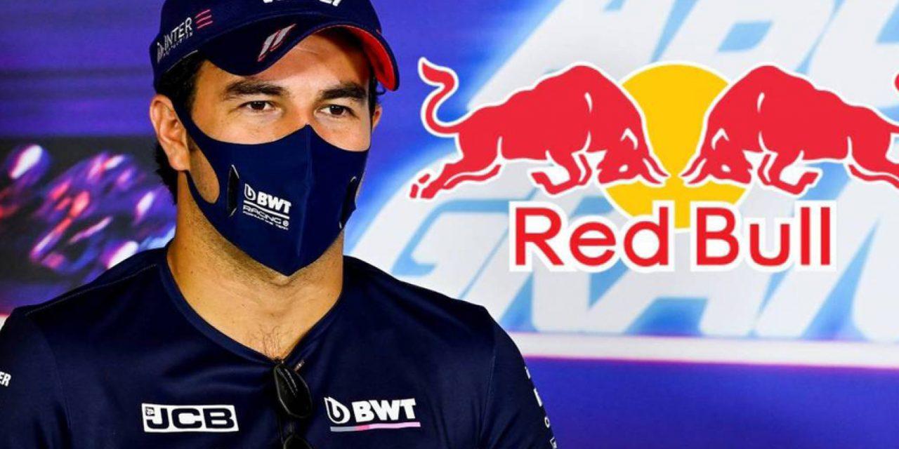 Checo Pérez firma con Red Bull; se queda en la Fórmula 1