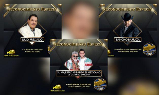 Reconocimientos especiales en Premios La Mejor 2021