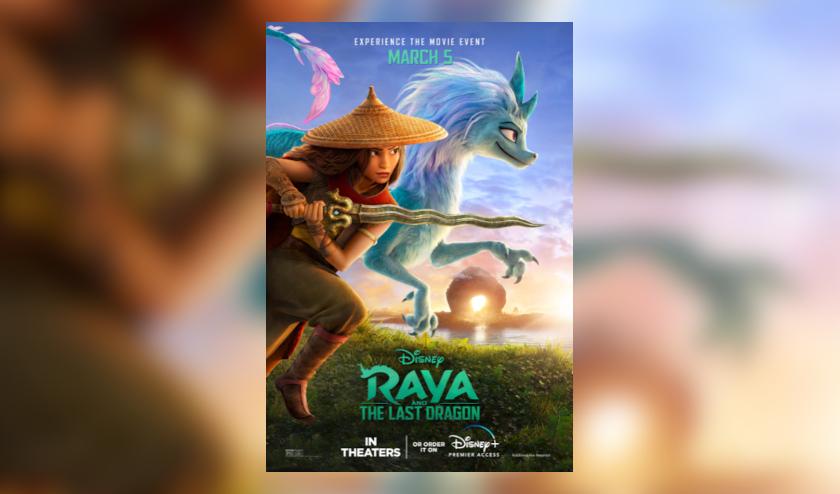 Walt Disney Animation Studios lanzó un nuevo y emocionante tráiler de la aventura de fantasía «Raya y el último dragón»