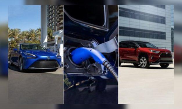 Toyota lanza tres nuevos vehículos eléctricos al mercado de los Estados Unidos