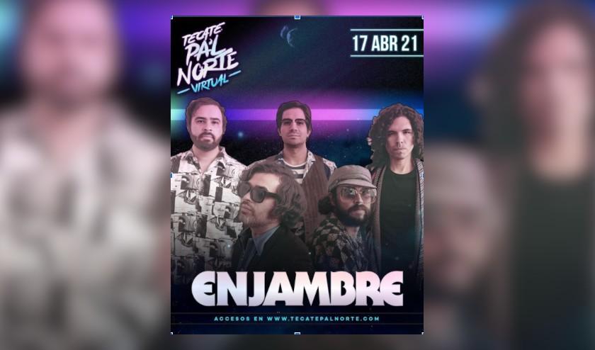 Enjambre presentará un show inolvidable en el Tecate Pa'l Norte Virtual en su primera edición