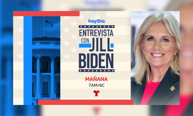 La Primera Daa Jill Biden se une a «Hoy Día» para una entrevista exclusiva desde la Casa Blanca mañana, jueves, 29 de Abril a partir de las 7am/6c por Telemundo