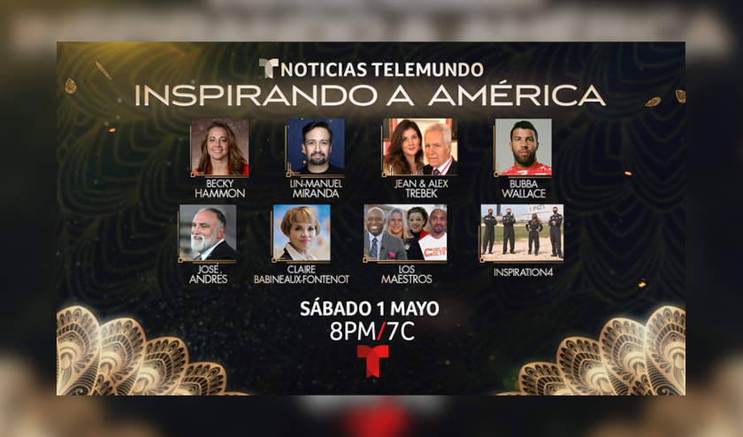 Noticias Telemundo anuncia a los homenajeados en la lista de Inspiradores 2021