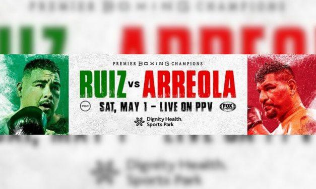 Hoy! Andy Ruiz Jr. les dará la bienvenida a una sesión de entrenamiento virtual imperdible de cara a su pelea pay-per-view contra Chris Arreola por Fox Sports el sábado, 1 de mayo
