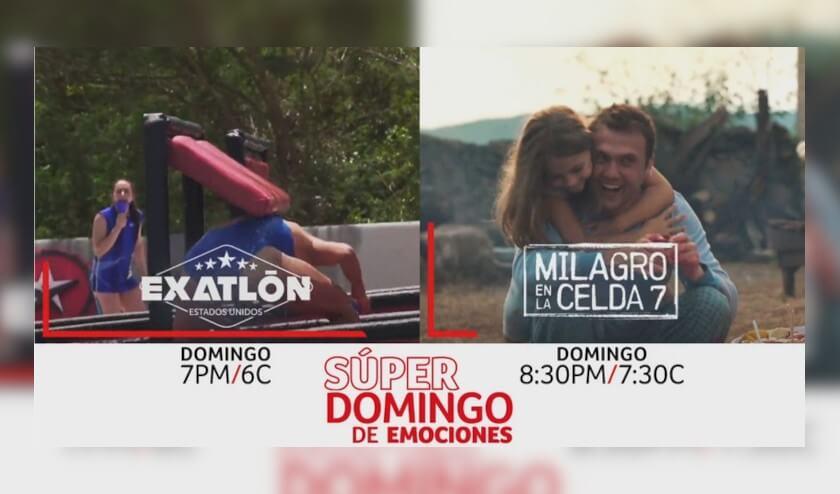 Telemundo presenta un domingo de emociones al máximo en 'Exatlón Estados Unidos', seguido por la exitosa película turca 'Milagro en la Celda 7' este 11 de abril a partir de las 7pm/6c