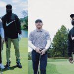 'Canelo' Álvarez presume sus mejores golpes jugando golf con Ezekiel Elliott