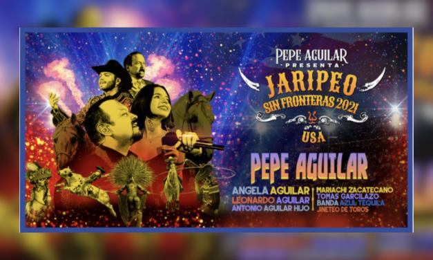 Pepe Aguilar continua su exitosa gira Jaripeo Sin Frontera este otoño con 15 nuevas fechas