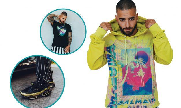 Comienza Maluma a diseñar ropa con Balmain