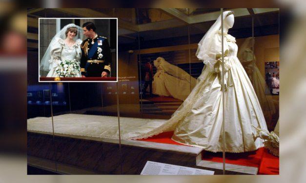 Por primera vez en 25 años exhibirán el vestido de novia de Diana de Gales