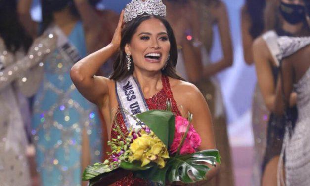 Conoce a Andrea Meza, la mexicana que ganó la corona de Miss Universo