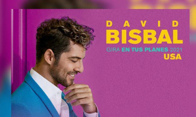 David Bisbal confirma nuevas fechas en Estados Unidos de su «Gira En Tus Planes 2021»
