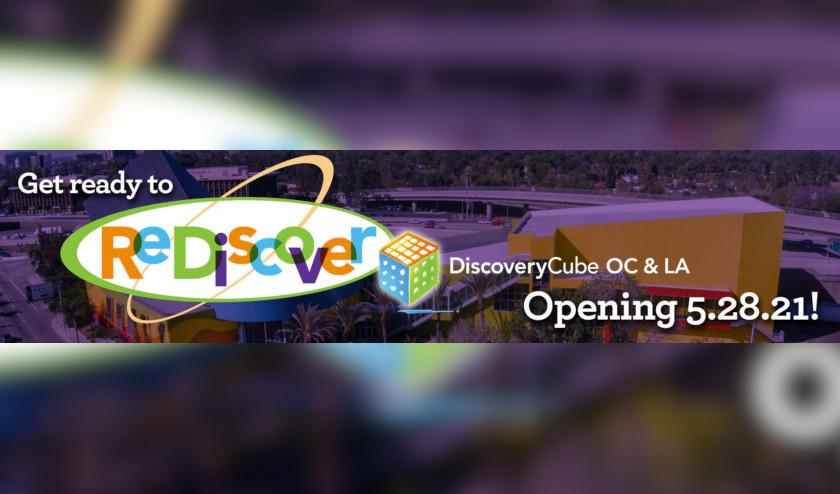 ¡Discovery Cube celebra el regreso de la ciencia! Las sedes de Orange County y Los Ángeles vuelven a abrir el 28 de mayo de 2021
