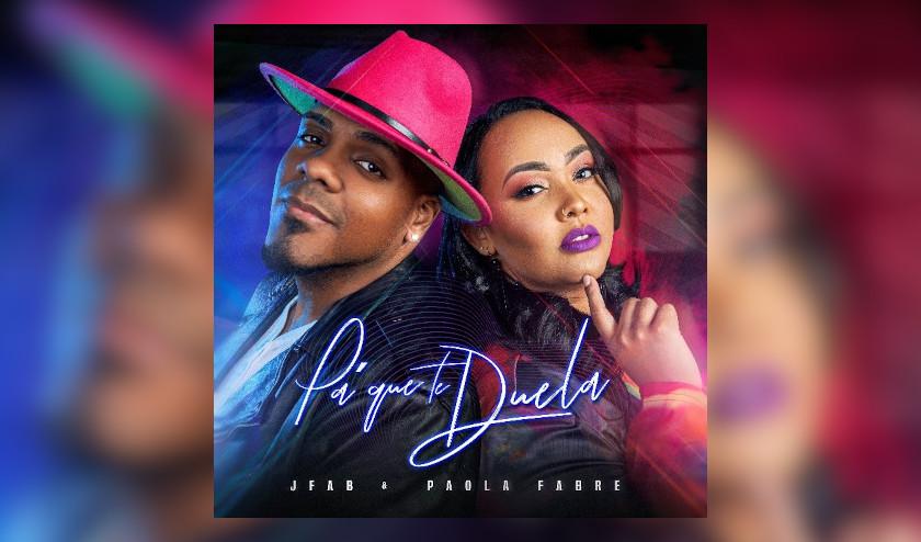 El prominente dúo de Bachata Jfab & Paola Fabre se consolidan con el debut de su primer EP, «PA' QUE TE DUELA»