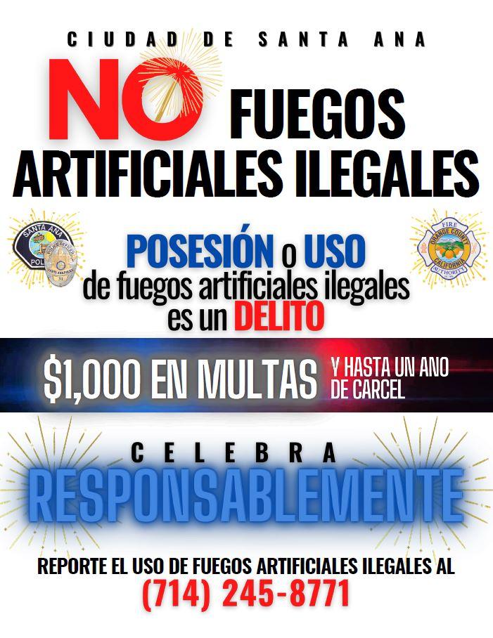No Fuegos Artificiales Ilegales