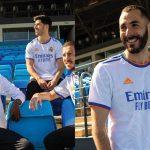Real Madrid presenta su nuevo uniforme para la temporada 2021-2022