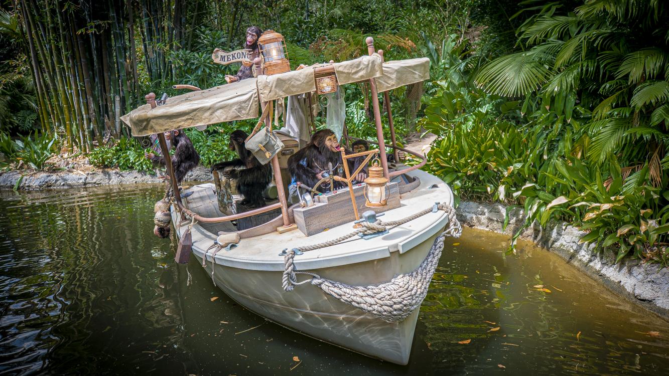 Nuevas aventuras en el Jungle Cruise en Disneyland Resort