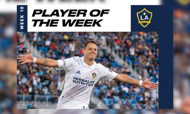 'Chicharito' Hernández, Jugador de la Semana en la MLS tras doblete