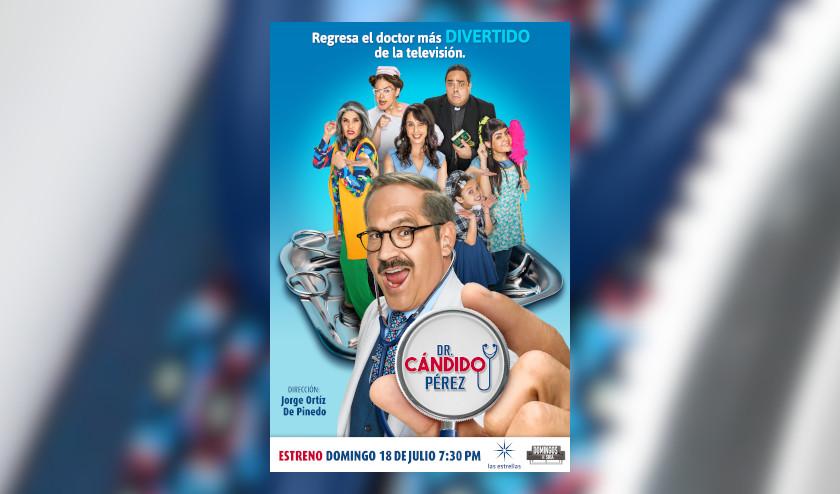 Regresa Dr. Cándido Pérez a la televisión
