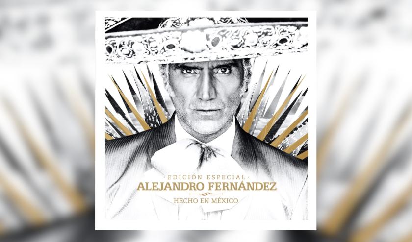 Alejandro Fernández presenta Hecho en México edición especial